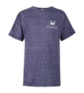 Boys Set The Dial Tee - Purple Snow Heather