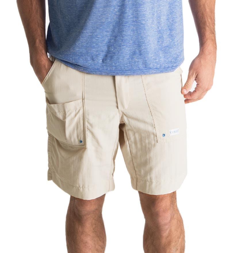 "8.5"" Angler short - Moonbeam fishing shorts - beach shorts - quick dry"