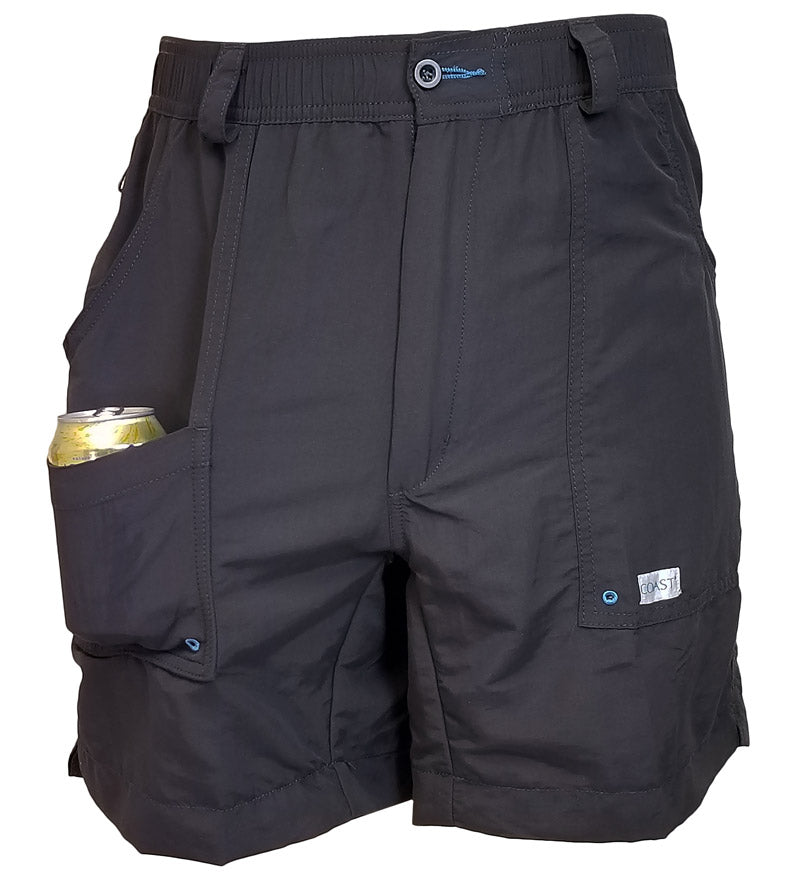 neoprene pocket - quick dry beach shorts - angler shorts