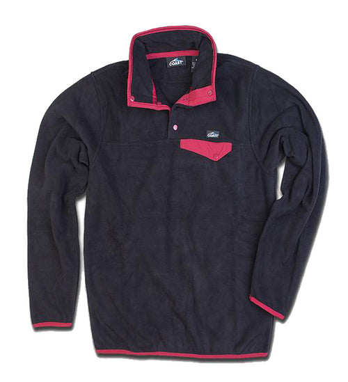 Men's Fleece Pullover - Black