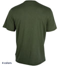 Coast Apparel Boys Solid Saltwater Tee olive back