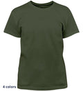 Coast Apparel Boys Solid Saltwater Tee olive front