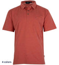 Coast Apparel Boys Skipper Polo spice heather front