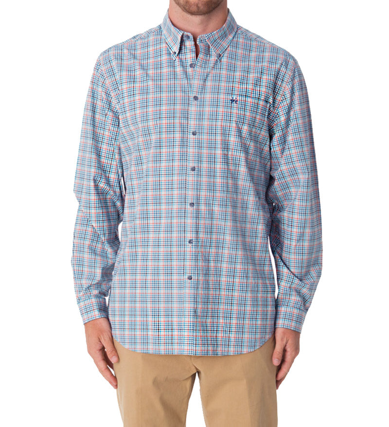 long sleeve button down shirt - st. simons dress shirt
