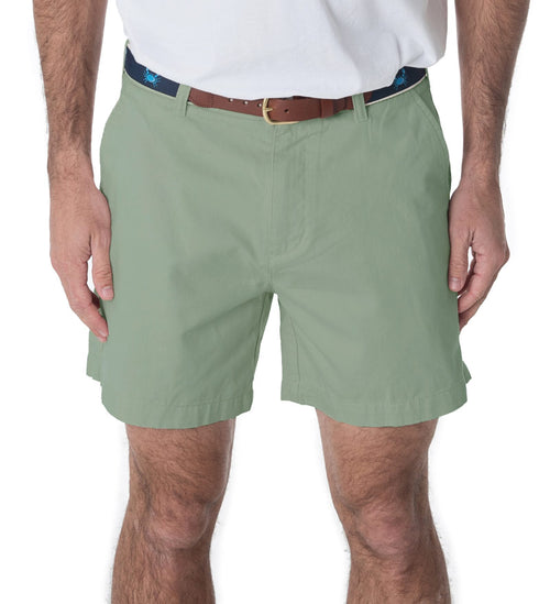 seafoam green deck shorts