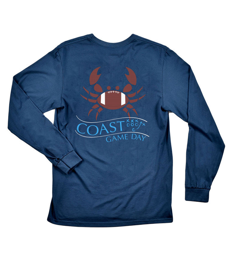Game Day - Navy Long Sleeve