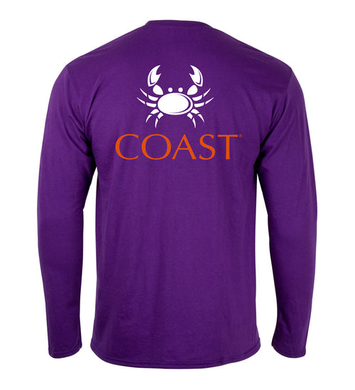 mens t shirts & university apparel - game day shirt with clemson crab logo