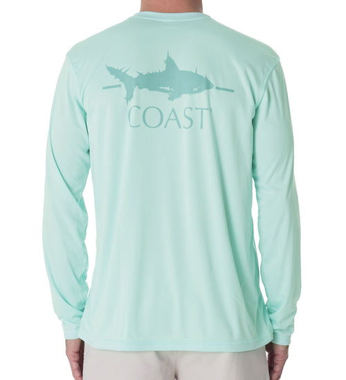 Shark Performance Shirt - Seaglass Green