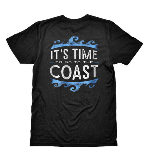 time to coast cool tee waves back