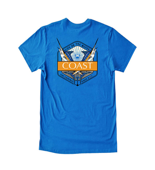 Life On The Water - Royal Tee
