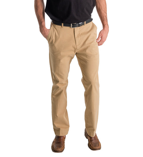 mens pants - beach pants - front khaki