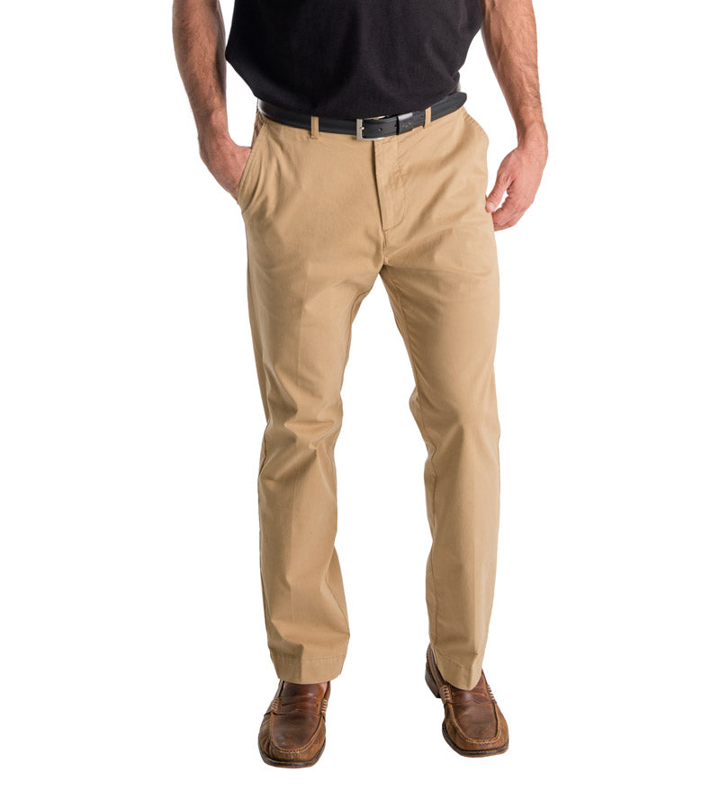70b1a95f23 Men's Khaki Beach Pants - Coast Apparel
