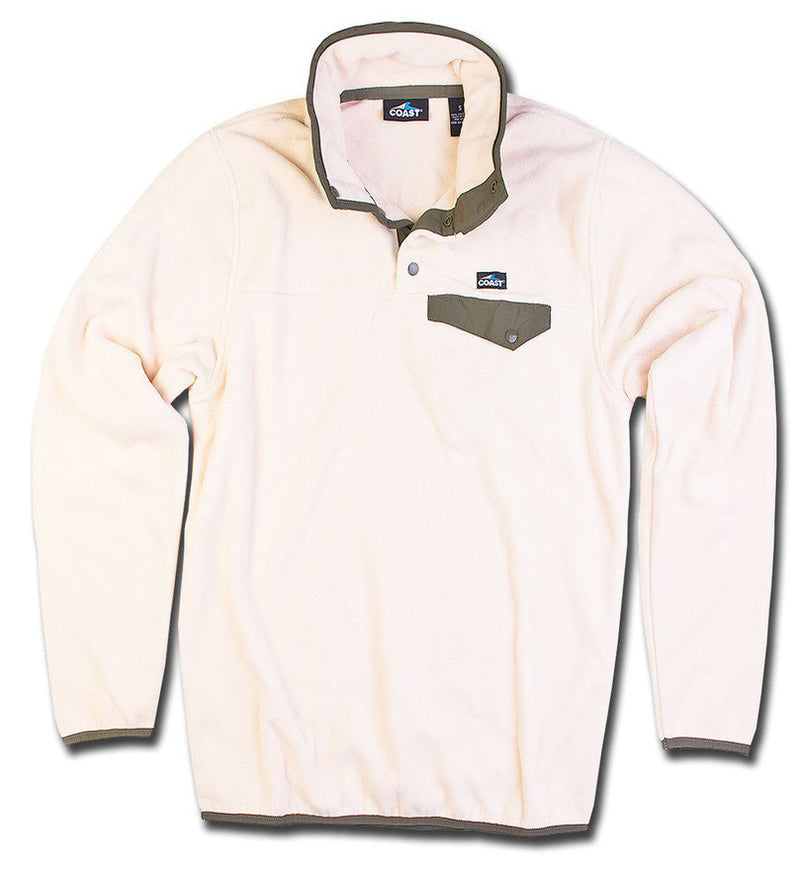 Men's Fleece Pullover - Sand
