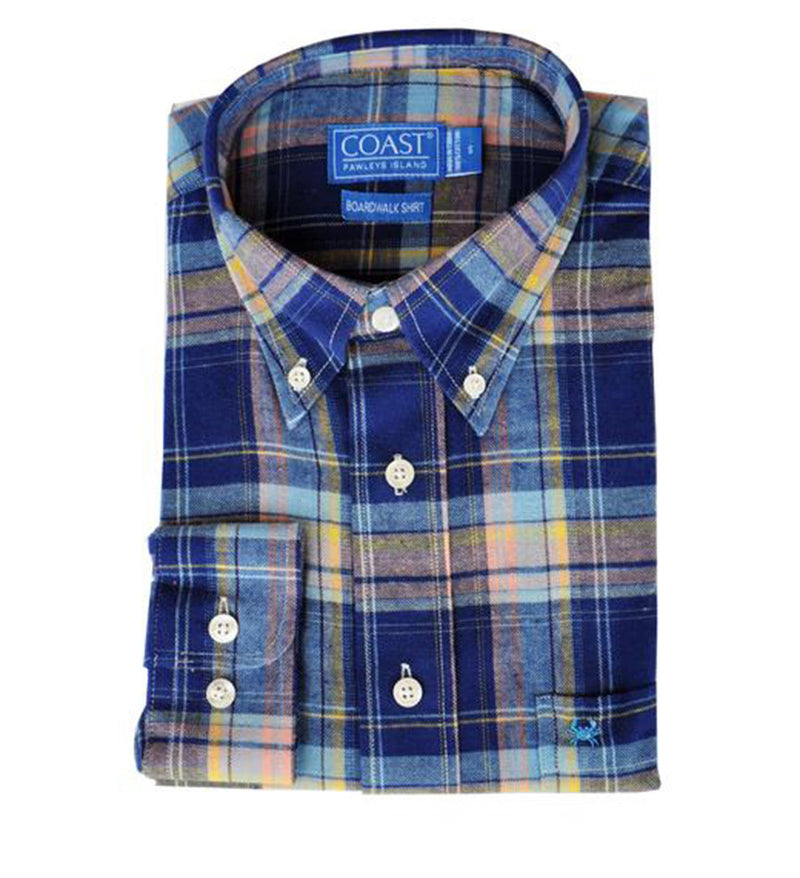 Flannel Button Down - Seabrook