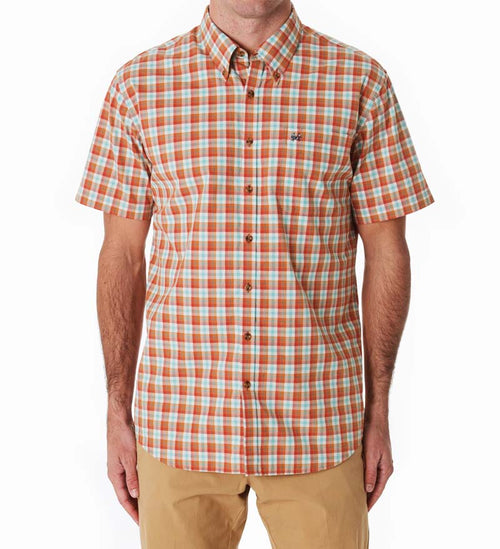 short sleeve button down shirt - sanibel dress shirt