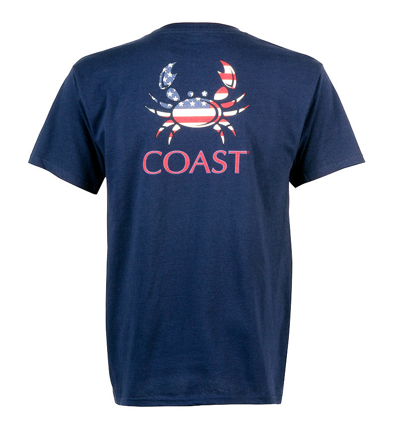 youth tshirt - american crab graphic