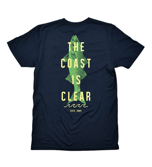 The Coast is Clear - Navy Tee