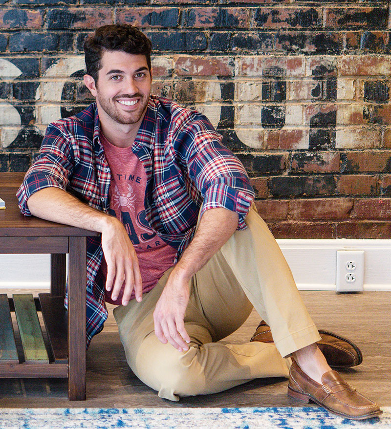 unisex flannel shirt redbud lifestyle 800x - 30+ Unique Gifts For Men: Holiday Gift Guide