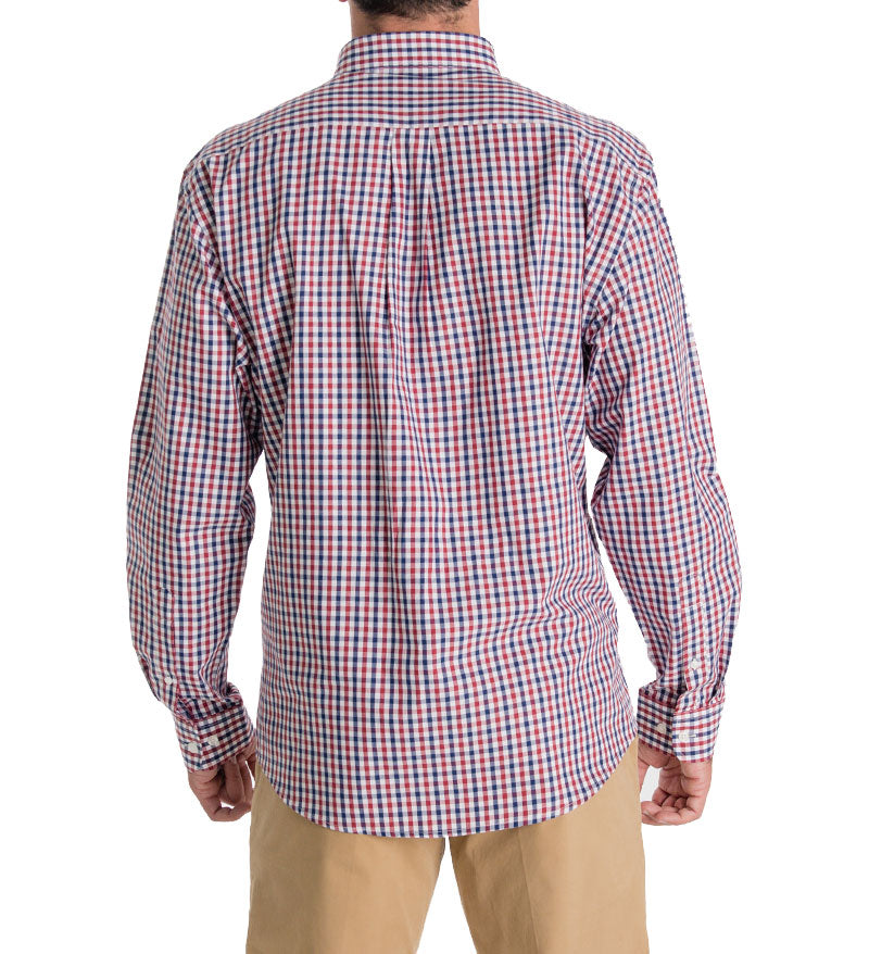 0bb7832e5db4 ... mens button down shirt - unisex dress shirt - back ...