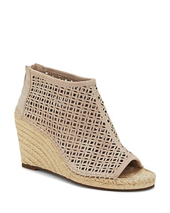 Vince Camuto Women's Lereena Espadrille Wedge Sandal, dkgrey, 10 Medium US