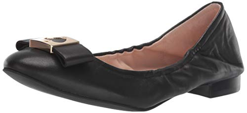 Kate Spade New York Women's MALINE Ballet Flat, Black, 6 M US