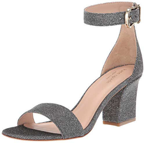Kate Spade New York Women's SUSANE Heeled Sandal, Smoke, 10.5 M US