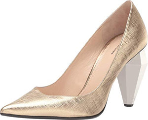 Marc Jacobs 100 mm The Pump Gold 36.5 (US Women's 6.5)