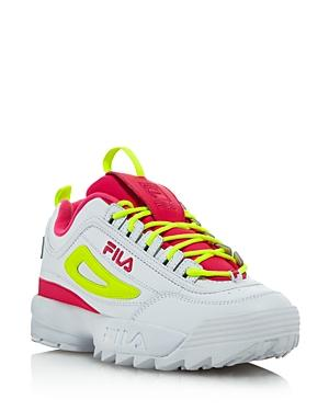 Fila Women's Disruptor 2 Premium Lace-Up Sneakers 9.5M