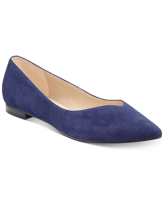 Marc Fisher Analia Pointed-Toe Flats Women's Shoes 10M