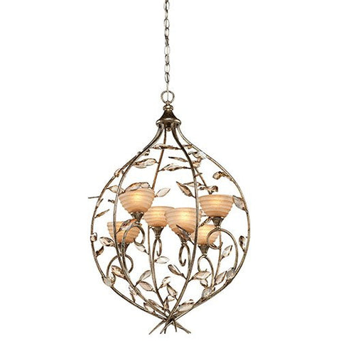 Artcraft AC1516 - 6 Light Bronzed Gold Chandelier - DISPLAY MODEL ONLY - 1510615 N