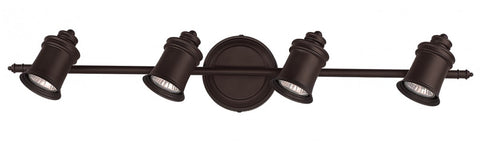 Canarm IT299A04ORB10 - 4 Headed Oil Rubbed Bronze Track - 1202298 N