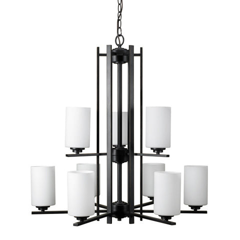 Russell 129-809 JG - 9 Light Chandelier