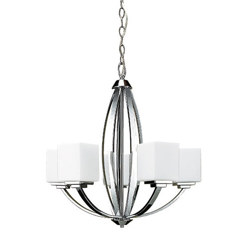 Russell 179-515 CHR - 5 Light Chandelier