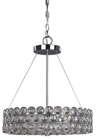 Canarm RICH104B03CH17 - 3 Light Chrome Chandelier - DISPLAY MODELS ONLY - 1155634 N