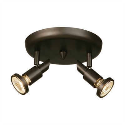 Artcraft AC5832 OB - 2 Light Oil Rubbed Bronze Ceiling Pan - DISPLAY MODEL ONLY - 1167536 N