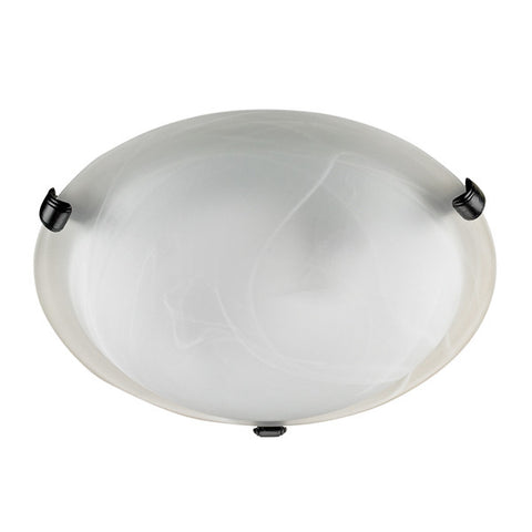 "Russell 341-616 BLK - 16"" Flush Mount - 1225083 N"