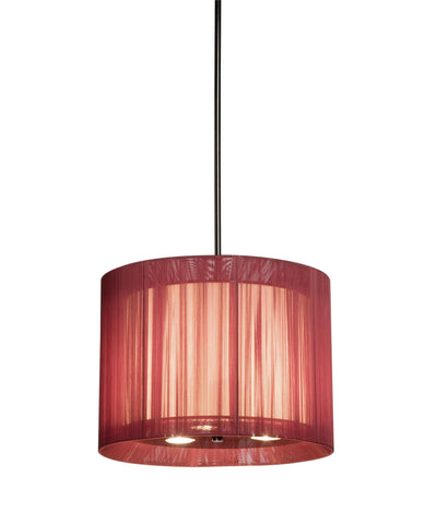 Artcraft AC392 - 6 Light Red Pendant - DISPLAY MODEL ONLY - 1153590 N
