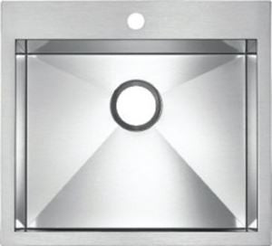 Blanco 400380 Stainless Steel - Single Bowl 18G MicroEdge Kitchen Sink - Topmount - 1187774 N