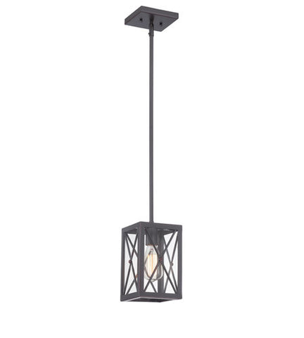 Designers Fountain 87330 SB - 1 Light Satin Bronze Pendant - 1650137 N