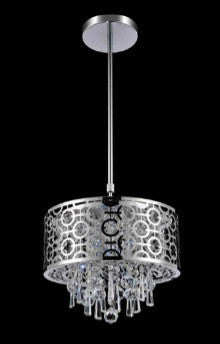 Crystal World 5430P12ST - 3 Light Pendant - 1650096 N