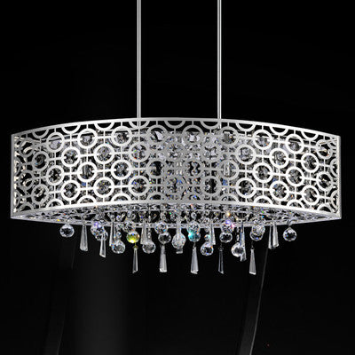 Crystal World 5430P30ST - 6 Light Pendant - 1650095 N