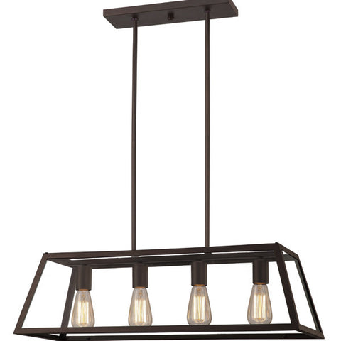 Canarm ICH480A04ORB30 - 4 Light Oil Rubbed Bronze Chandelier - 1168218 N