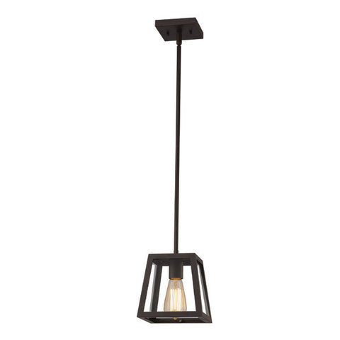 Canarm IPL480A01ORB - 1 Light Oil Rubbed Bronze Pendant - 1168219 N