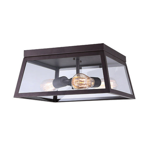 Canarm IFM480A14ORB - 3 Light Oil Rubbed Bronze Flushmount - 1202328 N