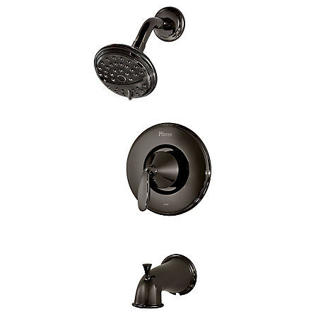 Pfister 8P8-PDMC Midnight Chrome - Tub/Shower Faucet - 1146688 N