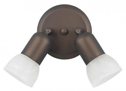 Canarm ICW92 ORB - 2 Headed Oil Rubbed Bronze Track - 1143489 N