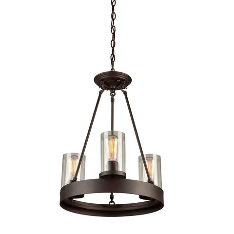 Artcraft AC10003 - 3 Light Chandelier - 1189552 N