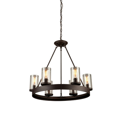 Artcraft AC10006 - 6 Light Chandelier - 1189554 N