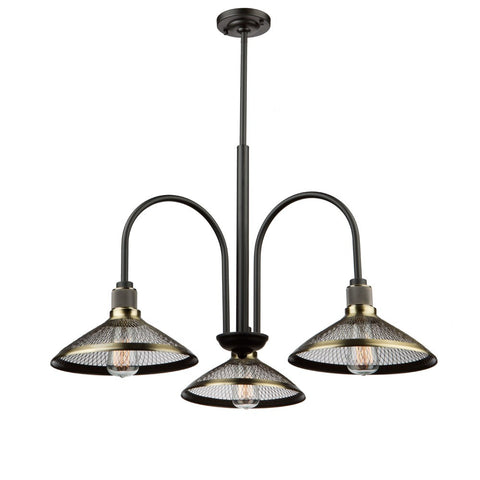 Artcraft AC10623 - 3 Light Chandelier - 1300938 N