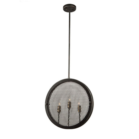 Artcraft AC10831 GB - 3 Light Pendant